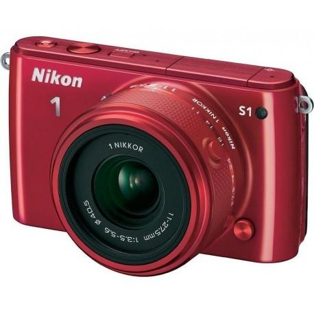 Nikon 1 S1 + 11-27,5 мм Kit красный