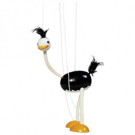 Игрушка - страус-марионетка