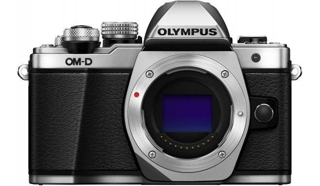 Olympus OM-D E-M10 Mark II  korpuss, sudraba