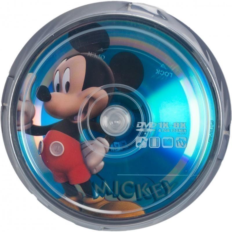 Disney DVD-R 4.7GB 8x Mickey 10 gb. spindle iepakojumā