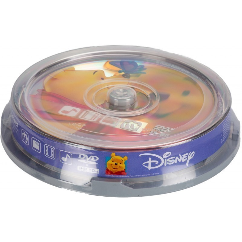 Disney DVD-R 4,7GB 8x The Pooh 10tk tornis
