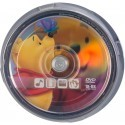 Disney DVD-R 4.7GB 8x The Pooh 10 gb. spindle iepakojumā