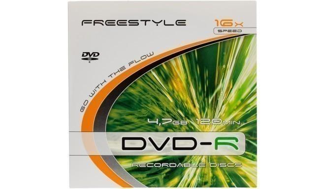 Omega Freestyle DVD-R 4,7GB 16x kartona aploksnē