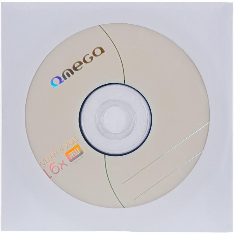 Omega DVD+R 4,7GB 16x ümbrikus