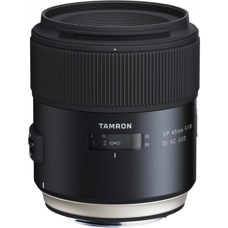Tamron SP 45mm f/1.8 Di VC USD objektiiv Nikonile