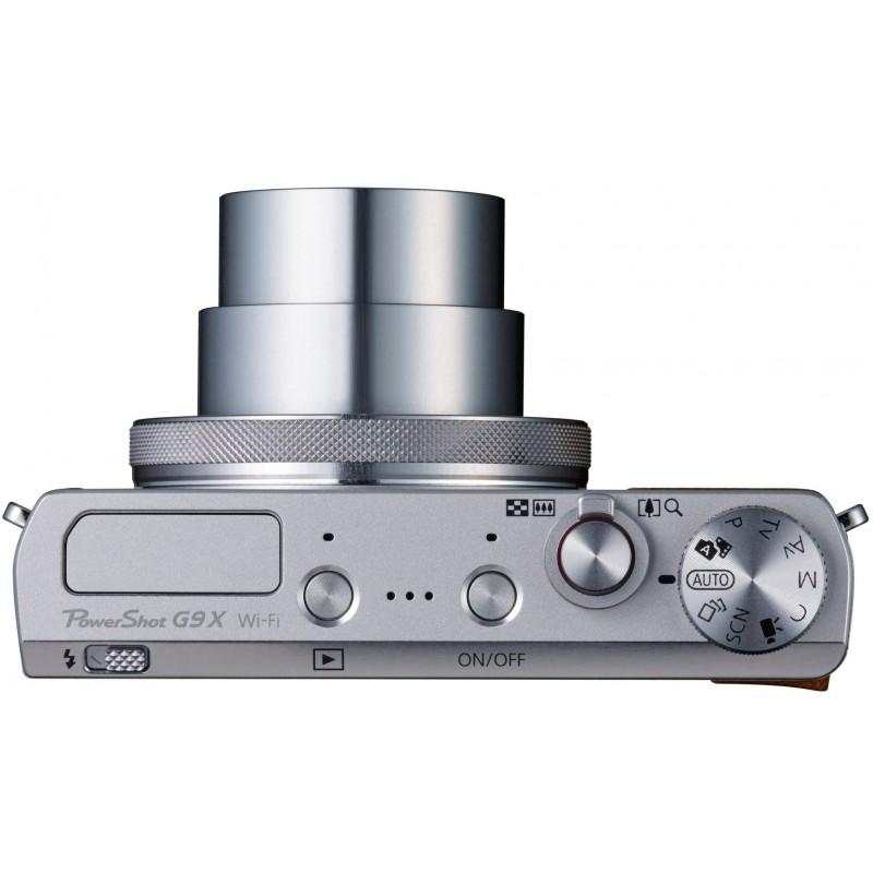Canon PowerShot G9 X, hõbedane