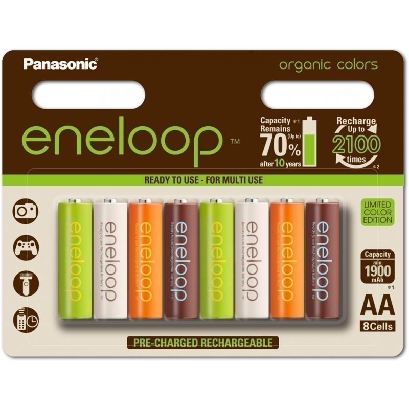 Panasonic eneloop aku AA 1900 8BP Organic