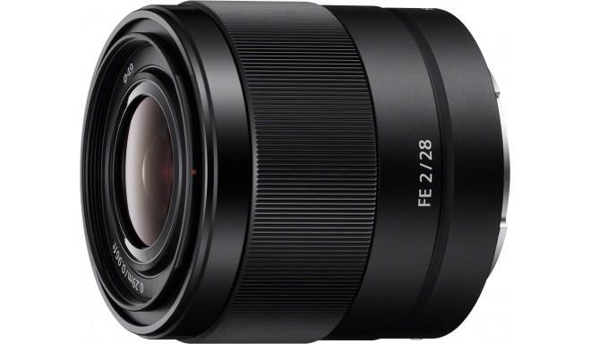 Sony FE 28mm f/2.0 objektiiv