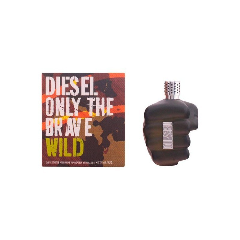 diesel only the brave wild edt vaporizador limited edition 200 ml parf mid tualettveed. Black Bedroom Furniture Sets. Home Design Ideas