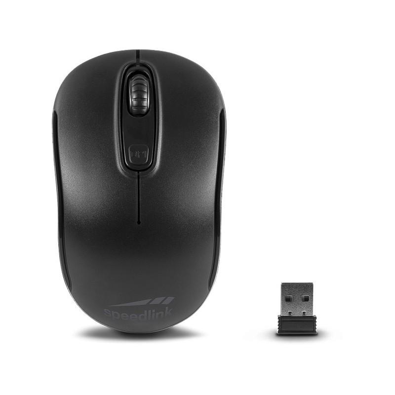 Speedlink hiir Ceptica Wireless, must (SL-630013-BKBK)