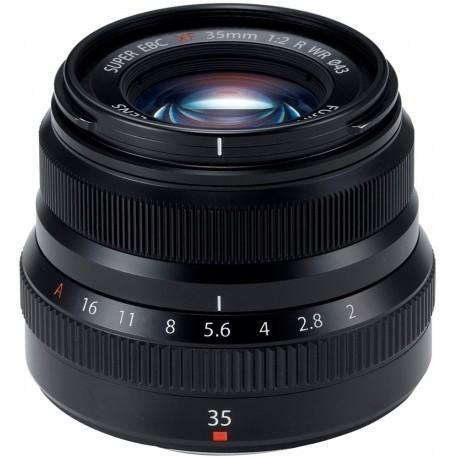 Fujinon XF 35mm f/2 R WR, black