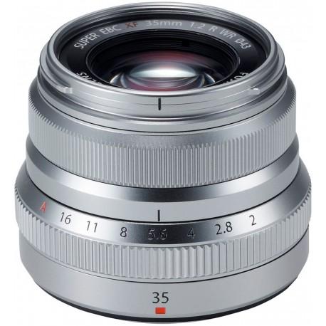 Fujinon XF 35mm f/2 R WR, silver