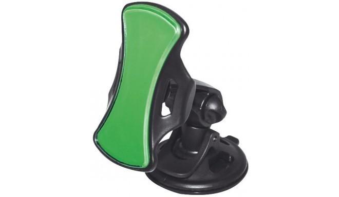 Omega telefonihoidik autosse Gecko, roheline