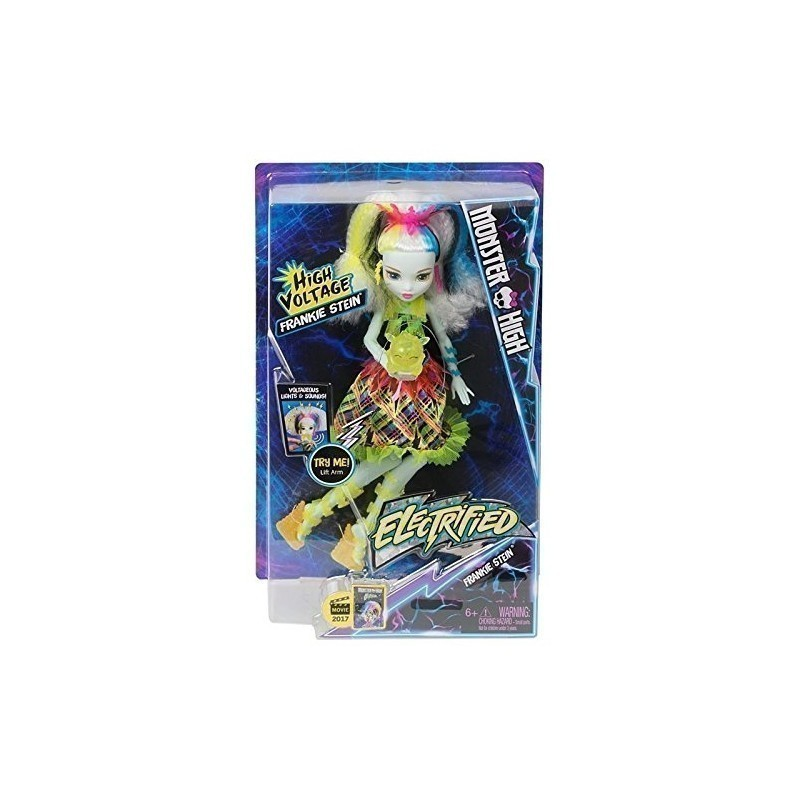 17f1c0c9726 Monster High nukk Frankie Stein Electrified (DVH72) - Nukud - Photopoint