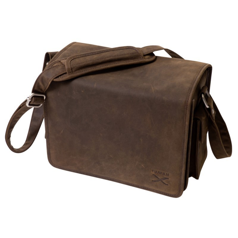Fujifilm сумка на плечо LC-X, коричневый