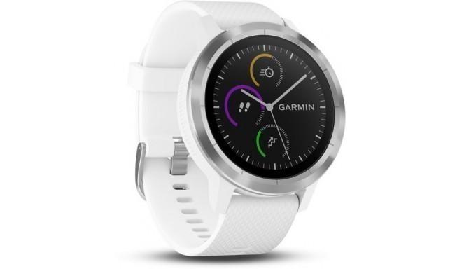 Garmin Vivoactive 3 GPS, белый/ серебряный