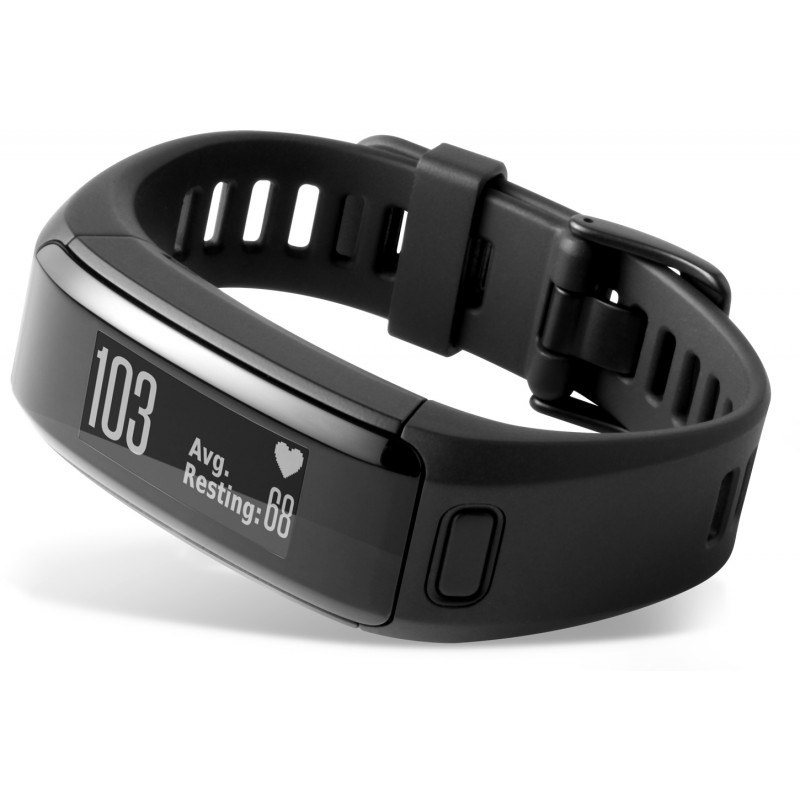 Garmin nutivõru Vivosmart HR Large, must