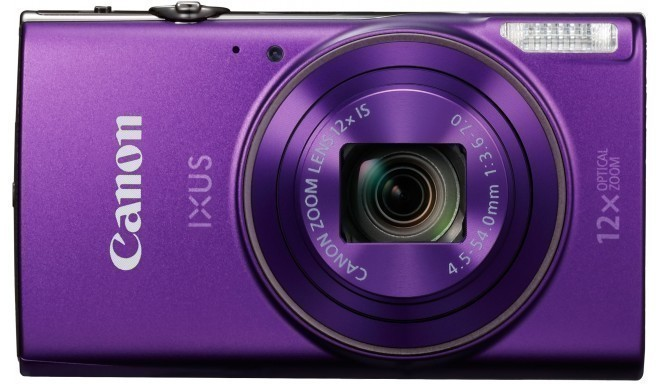 Canon Digital Ixus 285 HS, violets