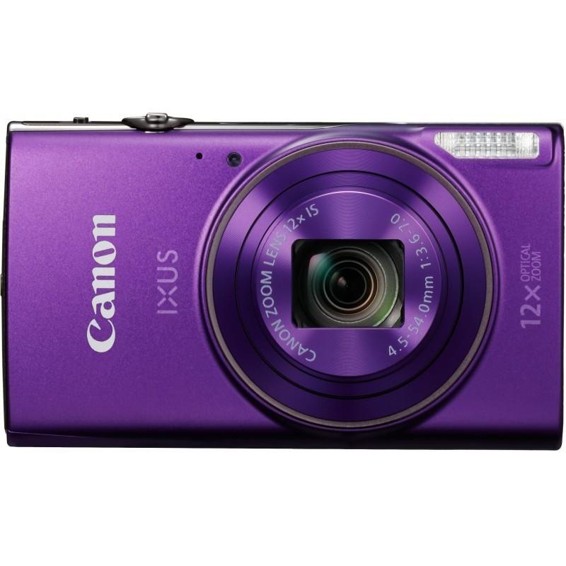 Canon Digital Ixus 285 Hs Purple Compact Cameras