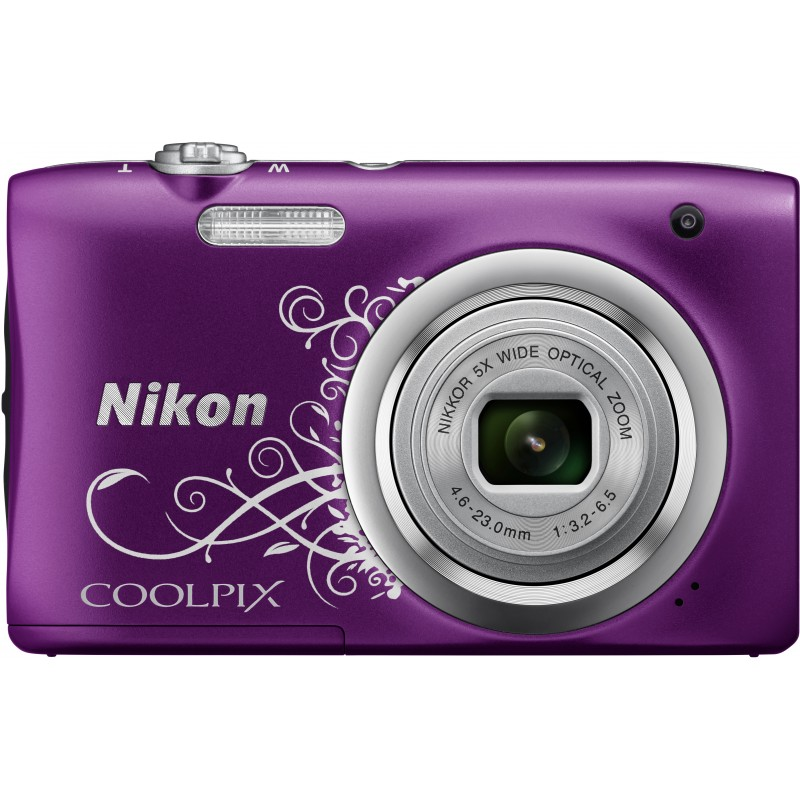 Nikon Coolpix A100, Lineart lilla