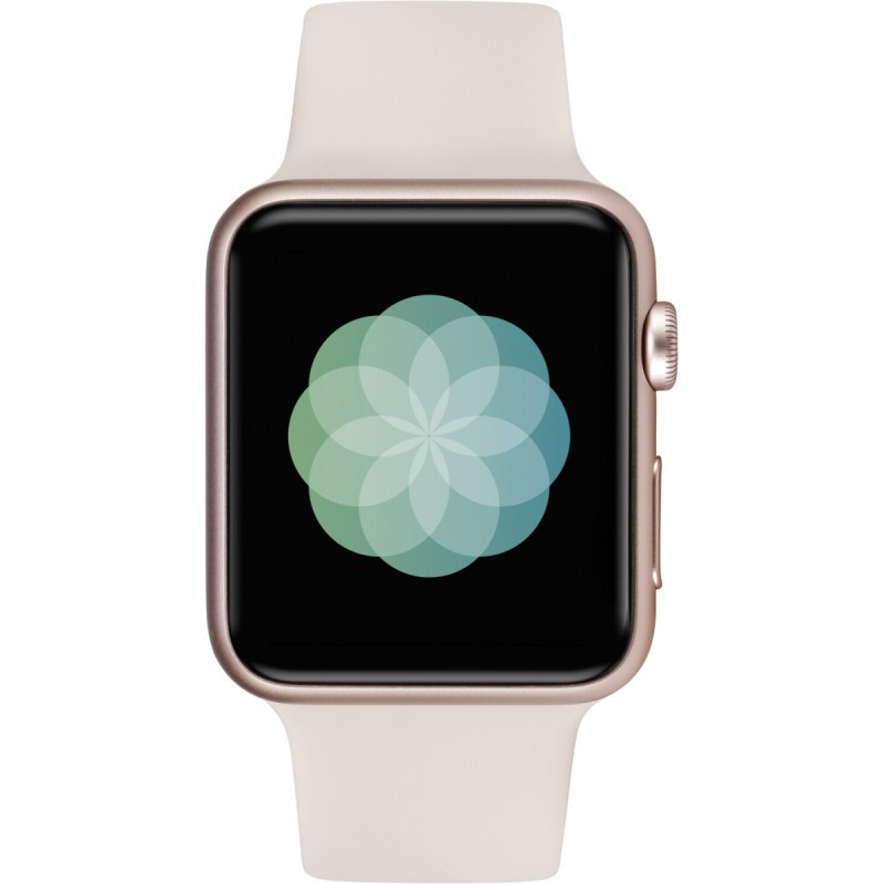 Apple Watch 42mm Rose Gold Alu Case With Pink Sand Sport Band Smartwatches Photopoint
