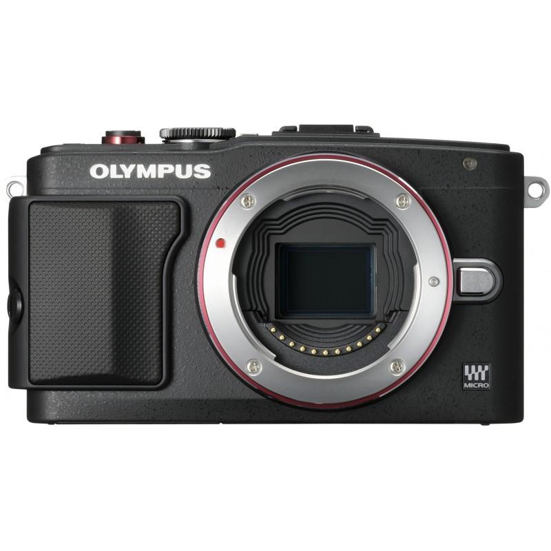 Olympus PEN Lite E-PL6 + 14-42mm EZ + 8GB mälukaart Kit, must