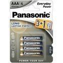 Panasonic patarei LR03EPS/4B (3+1)