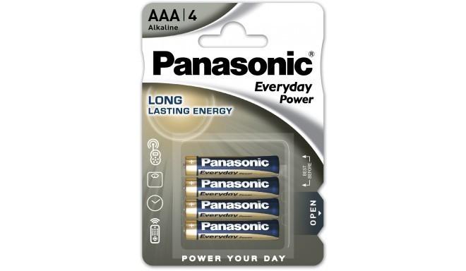 Panasonic Everyday Power patarei LR03EPS/4B