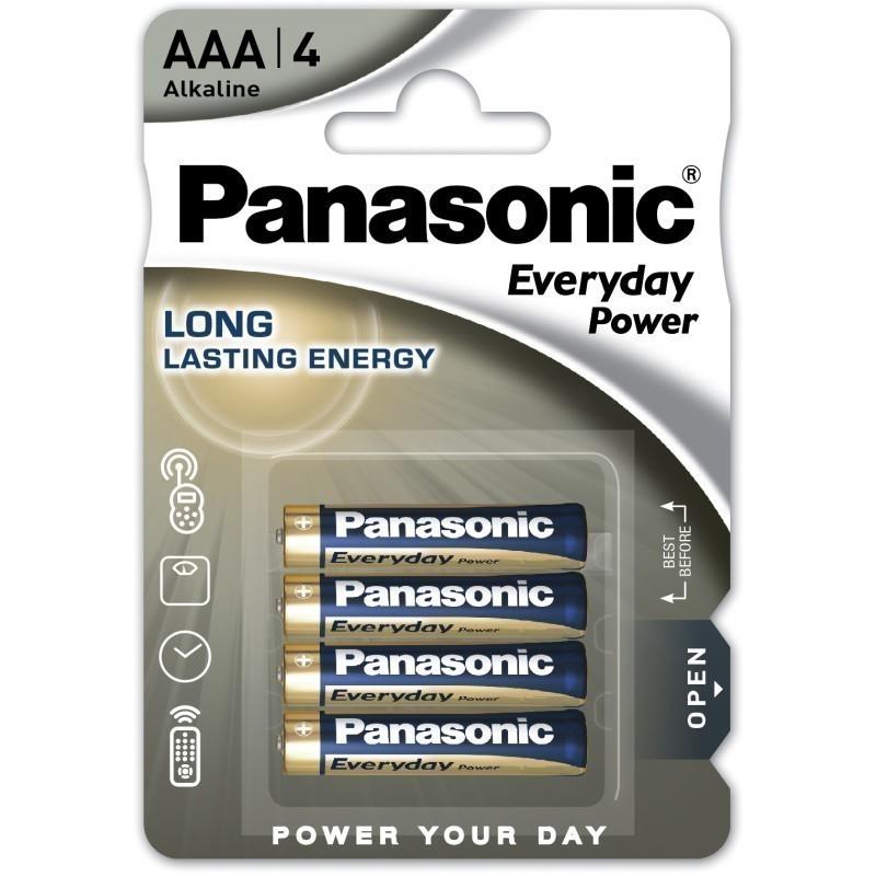 Panasonic baterija LR03EPS/4B