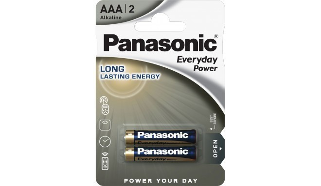 Panasonic Everyday Power battery LR03EPS/2B