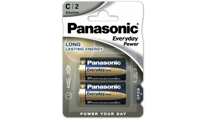 Panasonic Everyday Power baterija LR14EPS/2B
