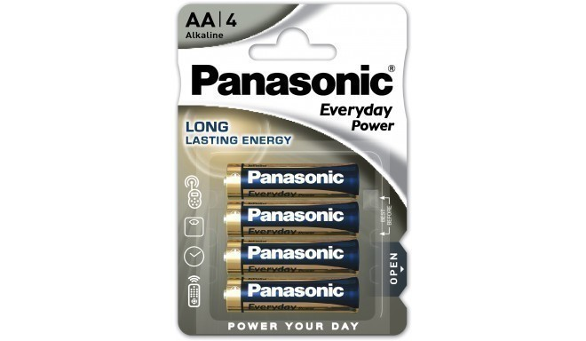 Panasonic Everyday Power baterija LR6EPS/4B