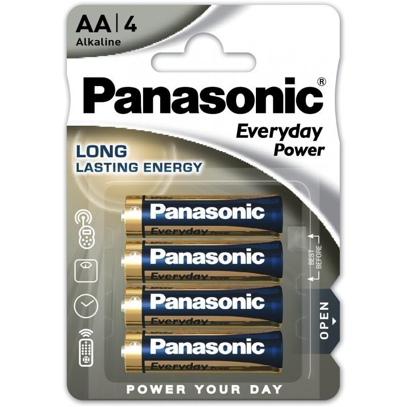 Panasonic baterija LR6EPS/4B