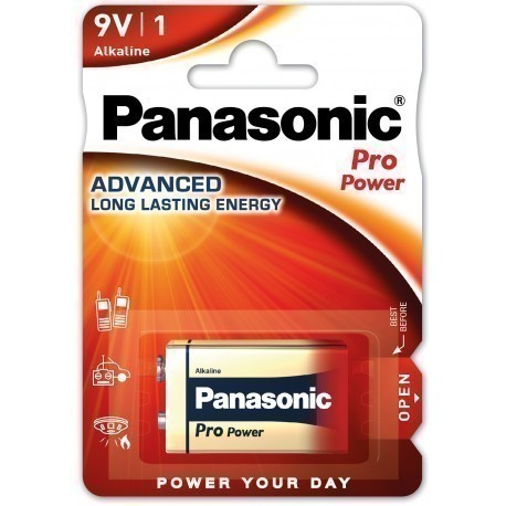 Panasonic Pro Power patarei 6LR61PPG/1B 9V