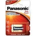 Panasonic patarei 6LR61PPG/1B 9V
