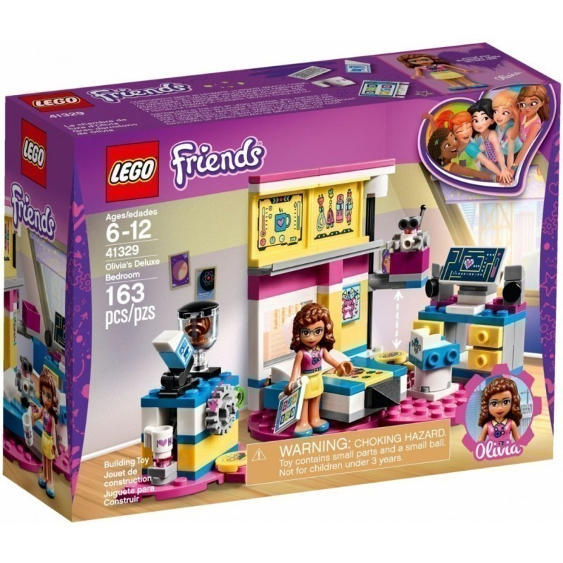 Lego Friends Olivias De Luxe Bedroom