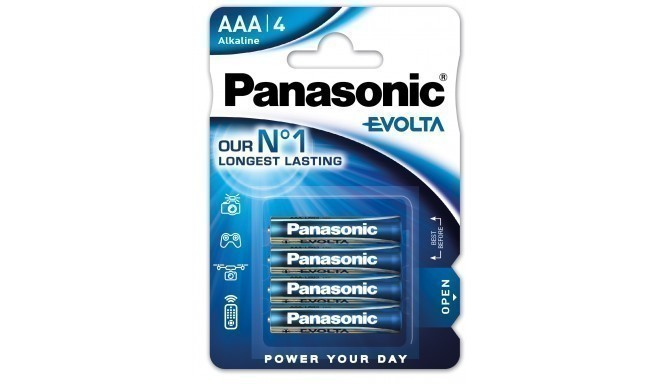 Panasonic Evolta battery LR03EGE/4B
