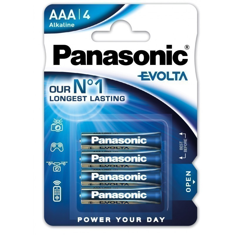 Panasonic baterija LR03EGE/4B
