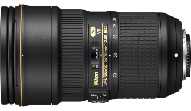 Nikon AF-S Nikkor 24-70мм f/2.8E ED VR объектив