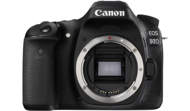 Canon EOS 80D, корпус