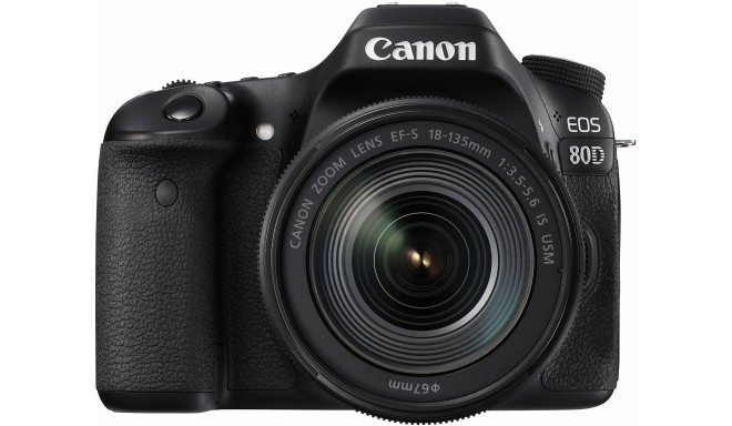 Canon EOS 80D + 18-135мм IS USM Kit