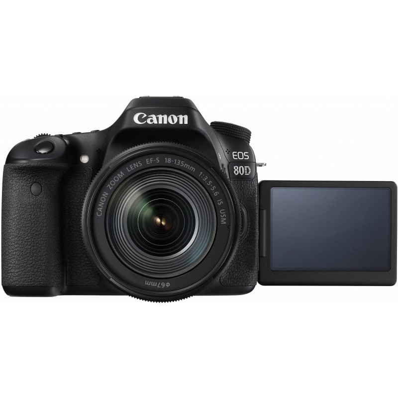 Canon EOS 80D + 18-135mm IS USM Kit