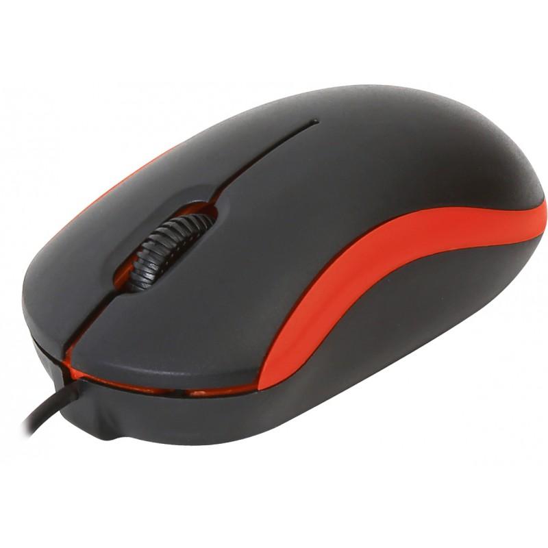 Omega mouse OM-07 Optical V2, red