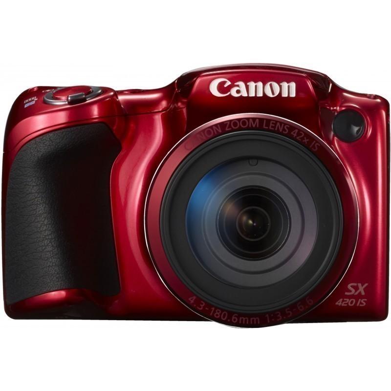 Canon PowerShot SX420 IS, punane