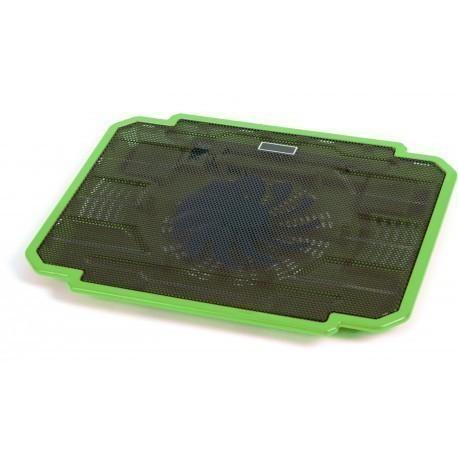 Omega klēpjdatora dzesēšanas paliktnis Ice Box, zaļš