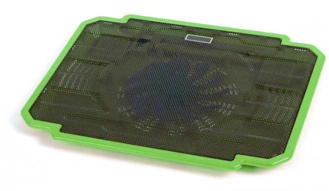 Omega охлаждающая подставка для ноутбука Ice Box, зеленый