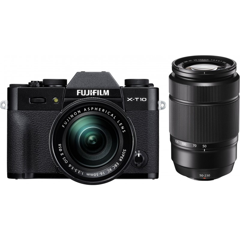 Fujifilm X-T10 + 16-50mm + 50-230mm kit, must