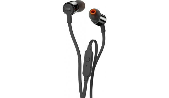 JBL kõrvaklapid + mikrofon T290, must
