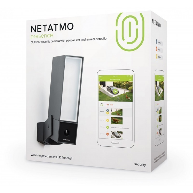 Netatmo security camera Presence