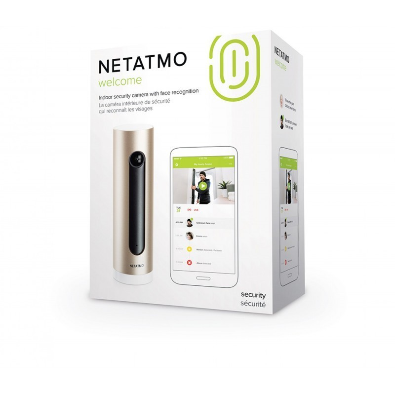 Netatmo security camera Welcome